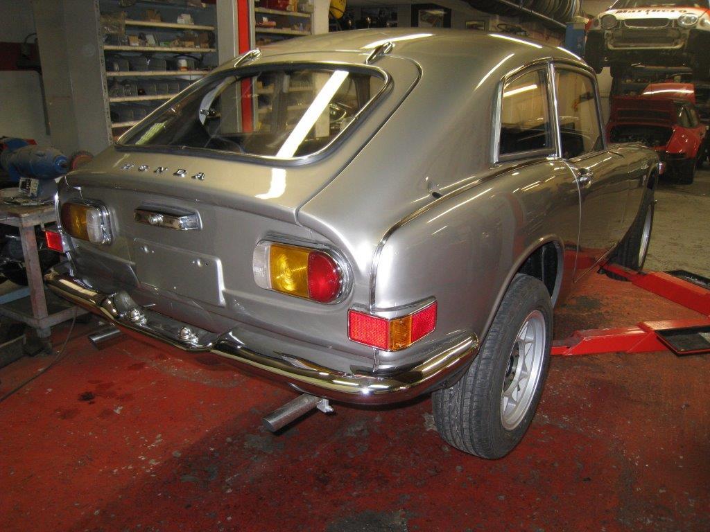 QM Developments - Restauratie van auto's, onderdelen en trackservice
